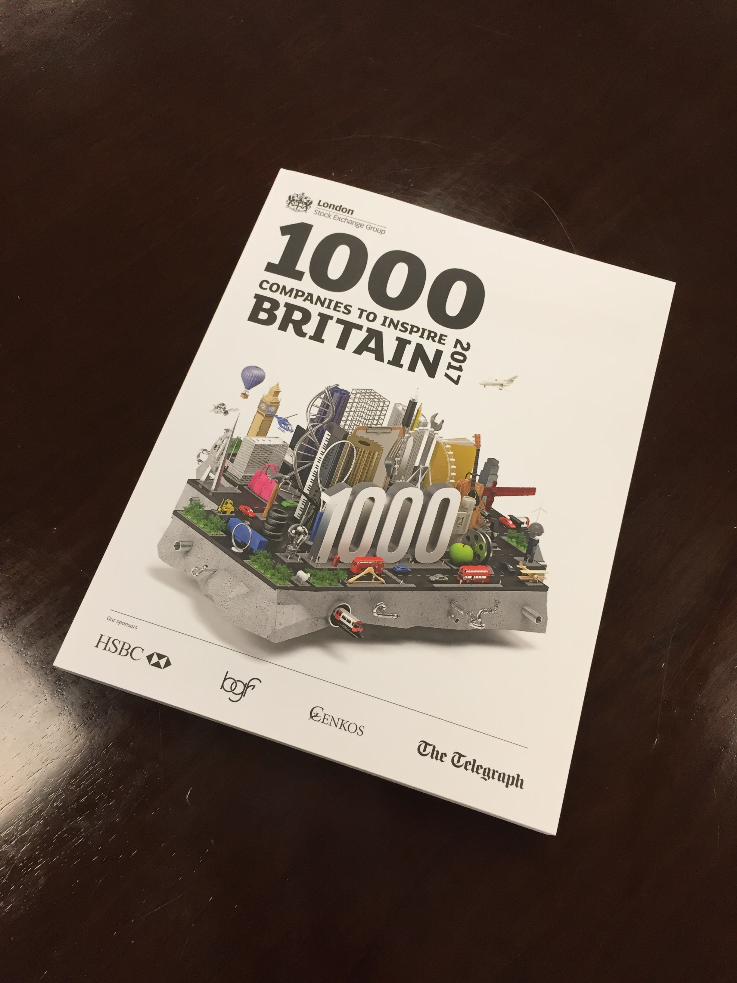 Stanmore recognised in '1000 Companies to Inspire Britain' report