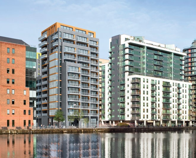 New #facade & #glazing project - 45 Millharbour