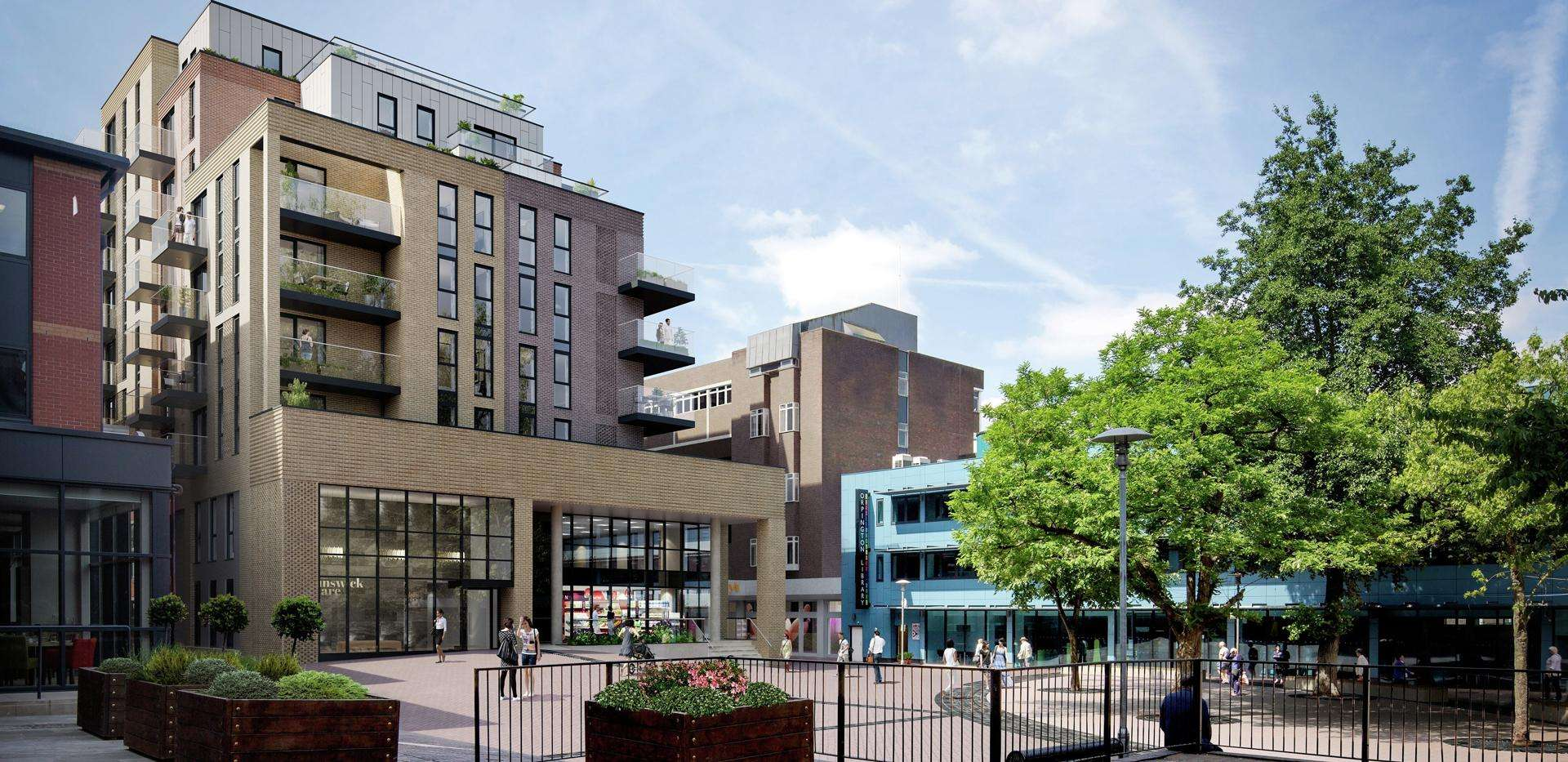 New Secured Project - Brunswick Square, Orpington