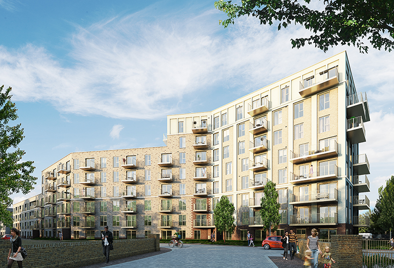 New Secured Facade & Glazing Project – Catford Green Blocks T & U