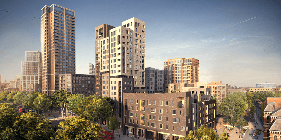 New Secured Project - Elephant Park, Elephant & Castle