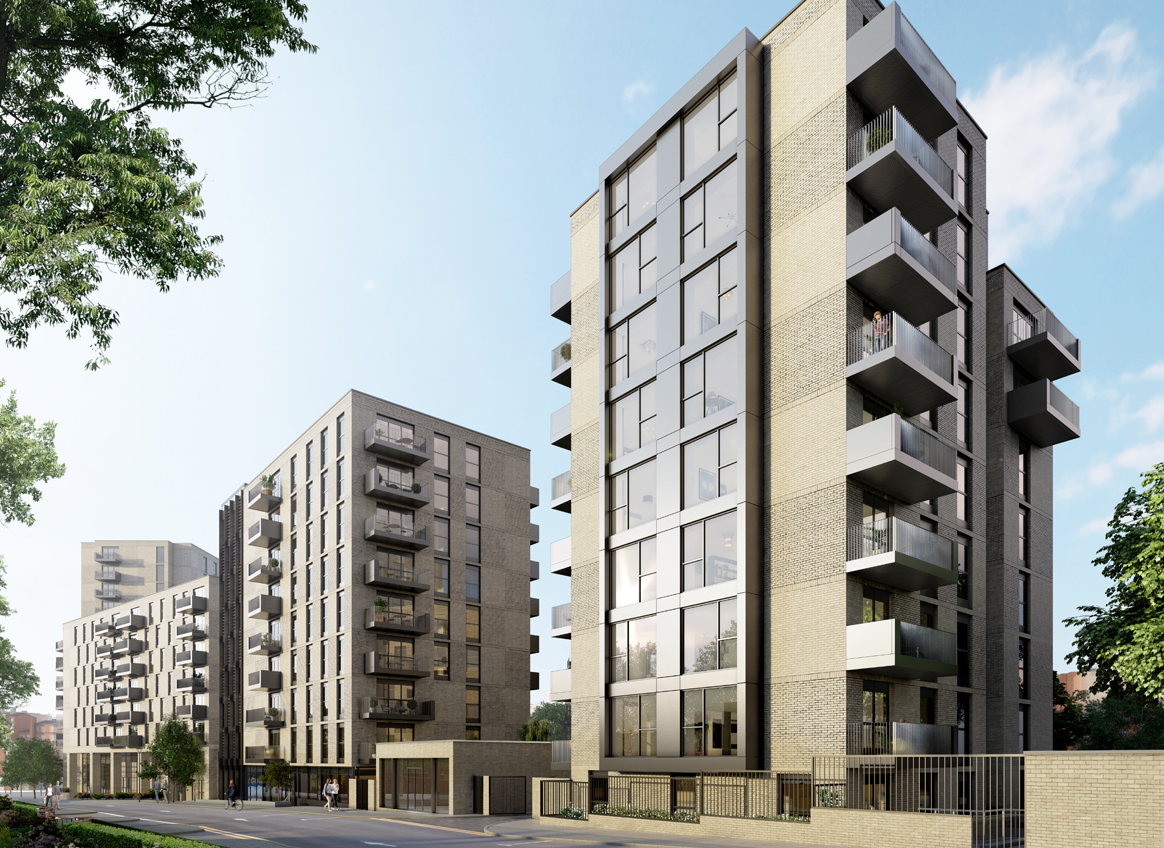 New secured metalwork project - Redrow London – Lyon Square