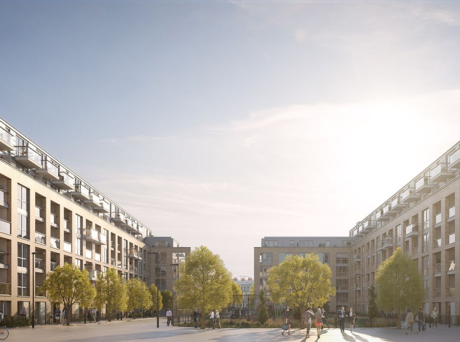 New secured project - Packington Square, Islington